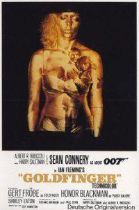 locandina del film AGENTE 007 - MISSIONE GOLDFINGER