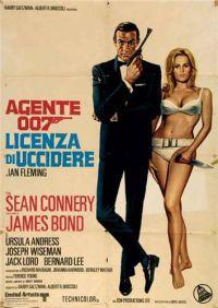 locandina del film AGENTE 007 - LICENZA DI UCCIDERE