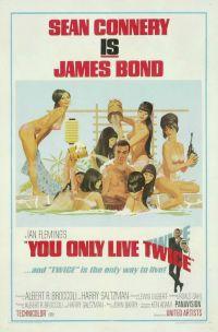 locandina del film AGENTE 007 - SI VIVE SOLO 2 VOLTE