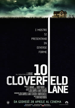 locandina del film 10 CLOVERFIELD LANE