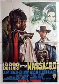 locandina del film 10000 DOLLARI PER UN MASSACRO