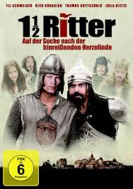 locandina del film 1 1/2 RITTER - AUF DER SUCHE NACH DER HINREIBENDEN HERZELINDE