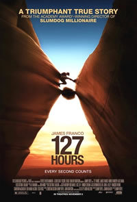 locandina del film 127 ORE