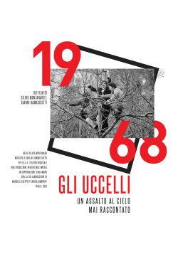 locandina del film 1968 GLI UCCELLI