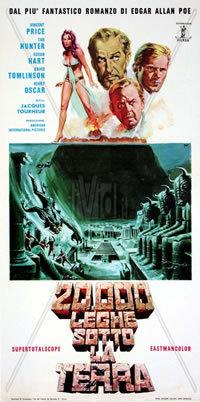 locandina del film 20000 LEGHE SOTTO LA TERRA