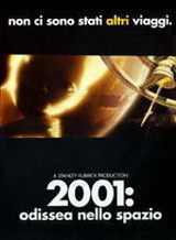 locandina del film 2001 ODISSEA NELLO SPAZIO