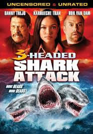 locandina del film 3-HEADED SHARK ATTACK