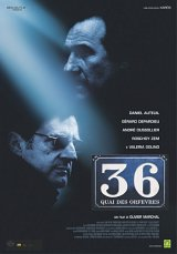 locandina del film 36 - QUAI DES ORFVRES