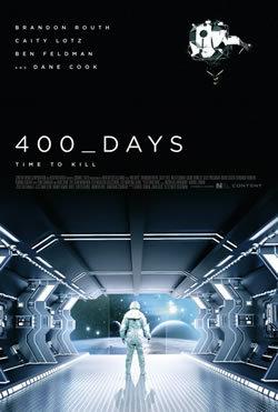 locandina del film 400 GIORNI - SIMULAZIONE SPAZIO