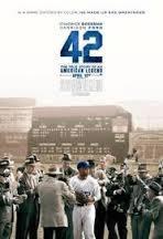 locandina del film 42 - LA VERA STORIA DI UNA LEGGENDA AMERICANA