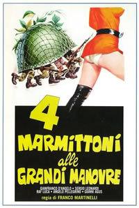 locandina del film 4 MARMITTONI ALLE GRANDI MANOVRE