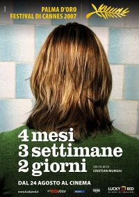 locandina del film 4 MESI, 3 SETTIMANE E 2 GIORNI
