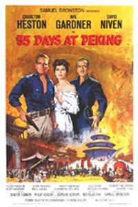 locandina del film 55 GIORNI A PECHINO