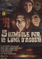 5 Bambole Per La Luna D'Agosto (1970)
