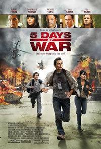 locandina del film 5 DAYS OF WAR