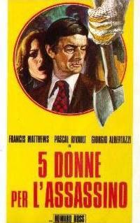 locandina del film 5 DONNE PER L'ASSASSINO