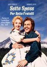 locandina del film SETTE SPOSE PER SETTE FRATELLI