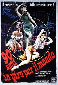 locandina del film 90 NOTTI IN GIRO PER IL MONDO