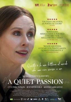 locandina del film A QUIET PASSION