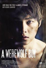 locandina del film A WEREWOLF BOY