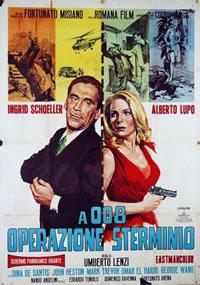 locandina del film A 008, OPERAZIONE STERMINIO