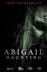 locandina del film ABIGAIL HAUNTING