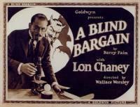 locandina del film A BLIND BARGAIN