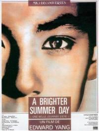 locandina del film A BRIGHTER SUMMER DAY