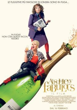 locandina del film ABSOLUTELY FABULOUS: IL FILM