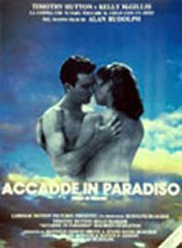 locandina del film ACCADDE IN PARADISO