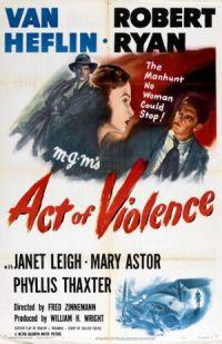 locandina del film ACT OF VIOLENCE