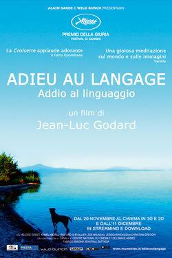 locandina del film ADDIO AL LINGUAGGIO