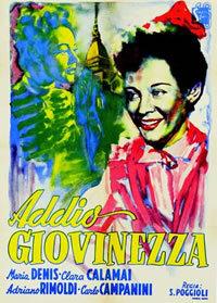 locandina del film ADDIO GIOVINEZZA!