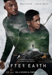 locandina del film AFTER EARTH - DOPO LA FINE DEL MONDO