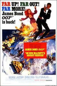 locandina del film AGENTE 007 - AL SERVIZIO SEGRETO DI SUA MAESTA'