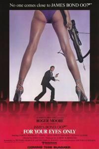 locandina del film AGENTE 007 - SOLO PER I TUOI OCCHI