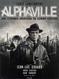 locandina del film AGENTE LEMMY CAUTION: MISSIONE ALPHAVILLE