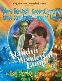 locandina del film ALADDIN AND HIS WONDERFUL LAMP