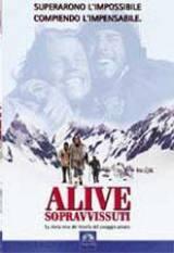 locandina del film ALIVE - SOPRAVVISSUTI
