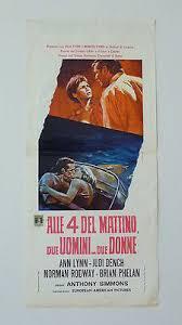 locandina del film ALLE 4 DEL MATTINO, DUE UOMINI… DUE DONNE
