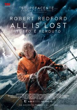 locandina del film ALL IS LOST - TUTTO E' PERDUTO