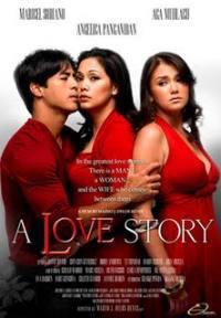 locandina del film A LOVE STORY