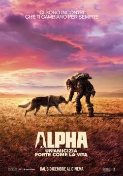 locandina del film ALPHA - UN'AMICIZIA FORTE COME LA VITA