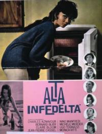 locandina del film ALTA INFEDELTA' (1964)