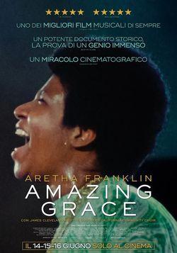 locandina del film AMAZING GRACE (2018)
