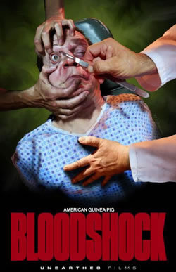 locandina del film AMERICAN GUINEA PIG: BLOODSHOCK