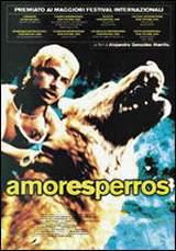 locandina del film AMORES PERROS