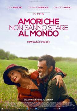 locandina del film AMORI CHE NON SANNO STARE AL MONDO