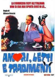 locandina del film AMORI, LETTI E TRADIMENTI