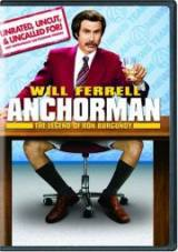 locandina del film ANCHORMAN - LA LEGGENDA DI RON BURGUNDY